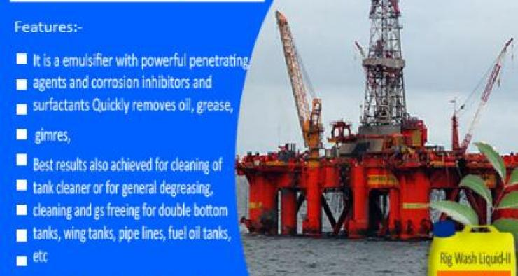 Detergent, Rigs Cleaner, Rig Wash in UAE, Rig Wash in Oman