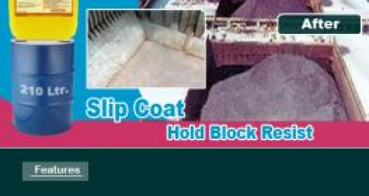 Marine slip coat Hold Block